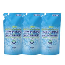 セスキ炭酸ソーダ+電解水クリーナー 詰替え