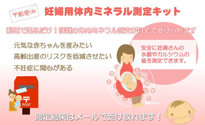 妊婦用体内ミネラル測定